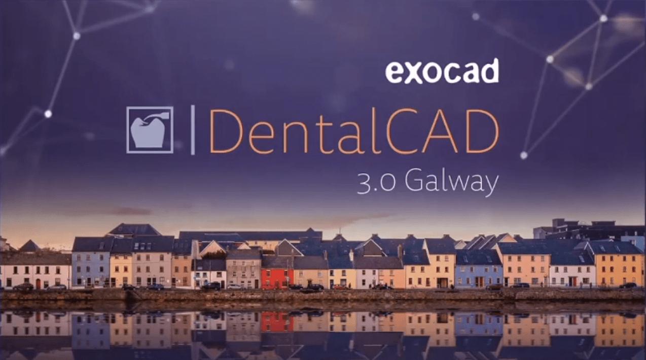 exocad DentalCAD 3.0 Galway (Engine Build 7662) crack